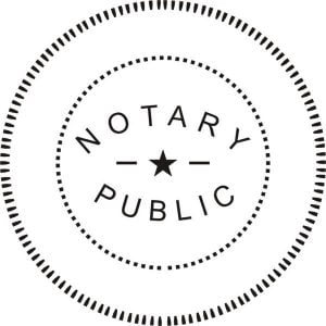 Notary Public Seal