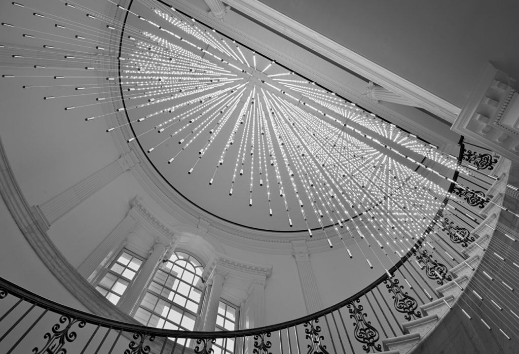 Stairwell in the Museum of the City of New York