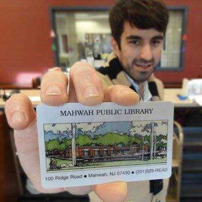 Mahwah Library Card
