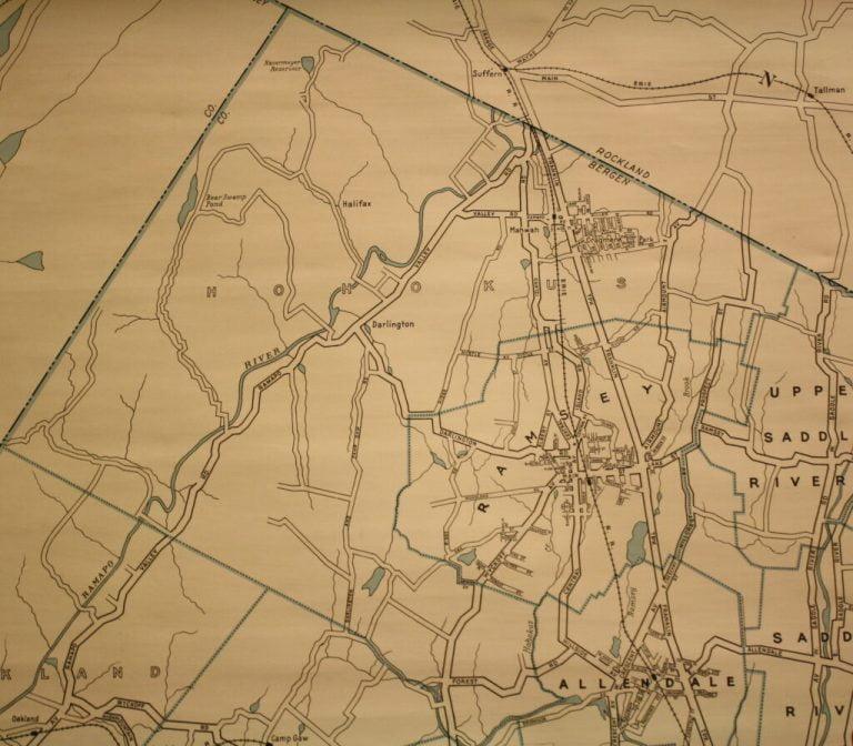 Mahwah Historical Map