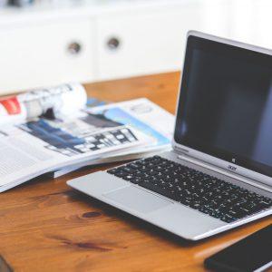 Online Magazines Homepage