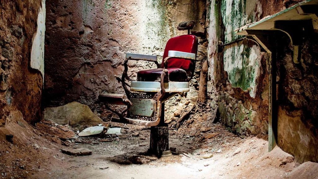 Eastern State Penitentiary Chair