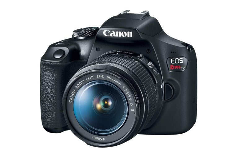 Canon EOS Rebel T7 Camera with 18-55mm Lens
