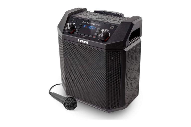 ION Audio Block Rocker Plus Portable Bluetooth Speaker